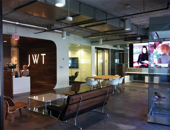 Green building: JWT, GroupM & H+K Strategies 160 Bloor Street East, Toronto