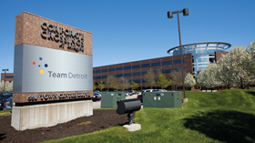 Green building: Team Detroit Corporate Crossings, Dearborn, Michigan thumbnail