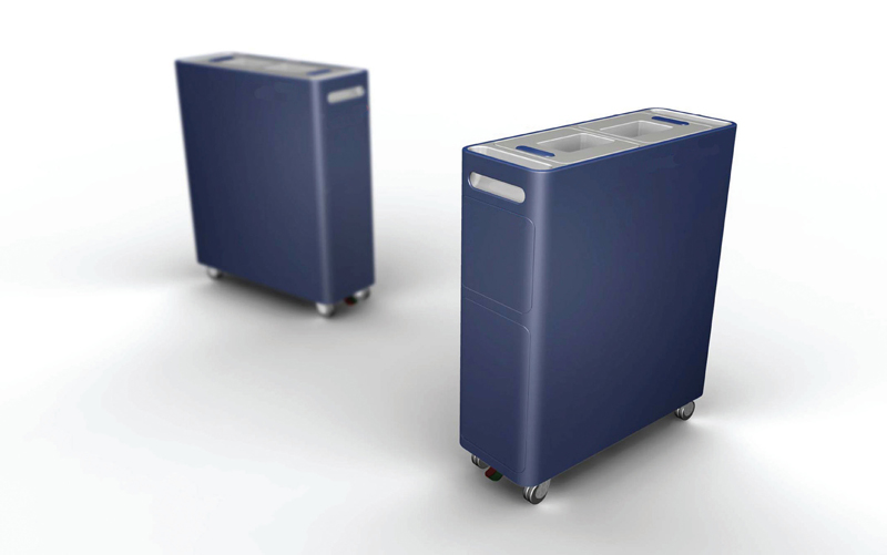 WPPED CREAM 2008 - Fitch | Sabic Innovation Plastics | Airline Trolley